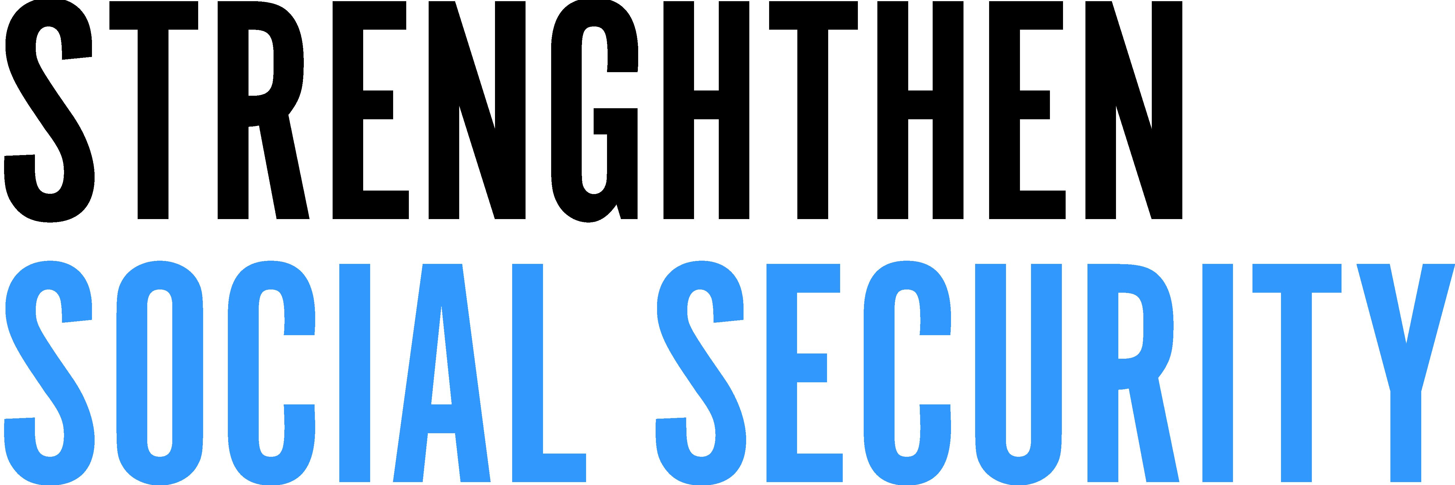 Strengthen Social Security